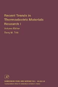 Advances in Thermoelectric Materials I, 1st Edition,Terry Tritt,ISBN9780127521787