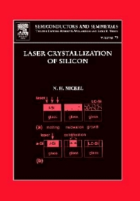 Laser Crystallization of Silicon - Fundamentals to Devices, 1st Edition,Norbert Nickel,ISBN9780127521848