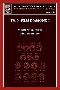 Thin-Film Diamond I - 1st Edition - ISBN: 9780127521855, 9780080541037