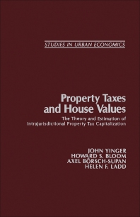 Cover image for Property Taxes and House Values