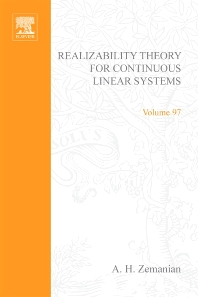 Realizability Theory for Continuous Linear Systems - 1st Edition - ISBN: 9780127795508, 9780080956060
