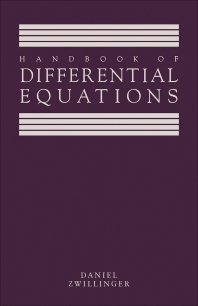 Handbook of Differential Equations - 1st Edition - ISBN: 9780127843902, 9781483220963