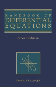 Cover image for Handbook of Differential Equations
