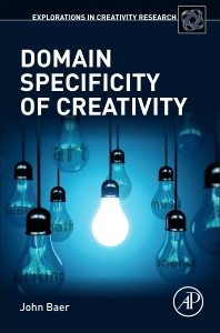 Cover image for Domain Specificity of Creativity