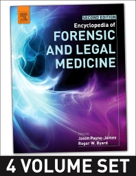 Cover image for Encyclopedia of Forensic and Legal Medicine