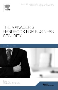 Cover image for The Manager's Handbook for Business Security