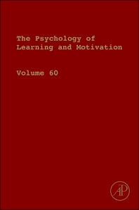 Psychology of Learning and Motivation - 1st Edition - ISBN: 9780128000908, 9780128003916
