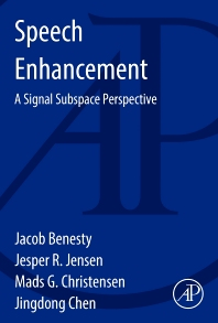 Speech Enhancement - 1st Edition - ISBN: 9780128001394, 9780128002537