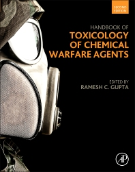 cover of Handbook of Toxicology of Chemical Warfare Agents - 2nd Edition