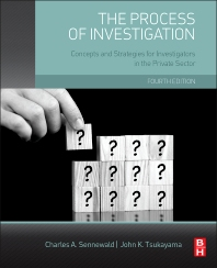 Cover image for The Process of Investigation