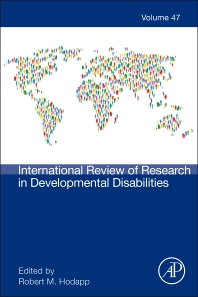 International Review of Research in Developmental Disabilities - 1st Edition - ISBN: 9780128002780, 9780128003343