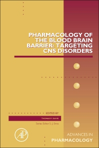 Pharmacology of the Blood Brain Barrier: Targeting CNS Disorders - 1st Edition - ISBN: 9780128002827, 9780128003381
