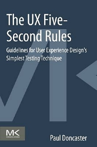 Cover image for The UX Five-Second Rules