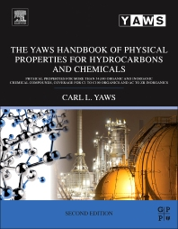 Cover image for The Yaws Handbook of Physical Properties for Hydrocarbons and Chemicals