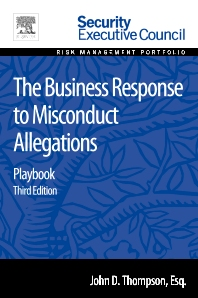 Cover image for The Business Response to Misconduct Allegations