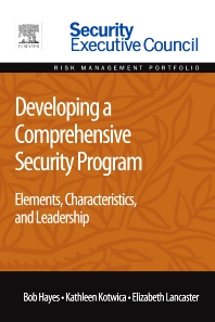 Cover image for Developing a Comprehensive Security Program