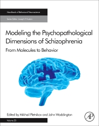 Cover image for Modeling the Psychopathological Dimensions of Schizophrenia