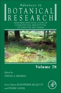 Cover image for Genomes and Evolution of Charophytes, Bryophytes, Lycophytes and Ferns