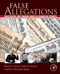 False Allegations - 1st Edition - ISBN: 9780128012505, 9780128013601