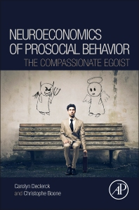 Cover image for Neuroeconomics of Prosocial Behavior