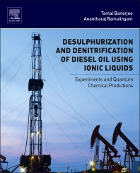 cover of Desulphurization and Denitrification of Diesel Oil Using Ionic Liquids - 1st Edition