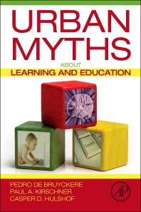 Cover image for Urban Myths about Learning and Education