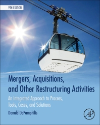 cover of Mergers, Acquisitions, and Other Restructuring Activities - 9th Edition