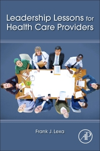 Cover image for Leadership Lessons for Health Care Providers