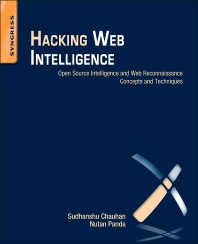 Cover image for Hacking Web Intelligence