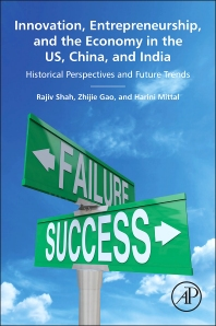 Cover image for Innovation, Entrepreneurship, and the Economy in the US, China, and India