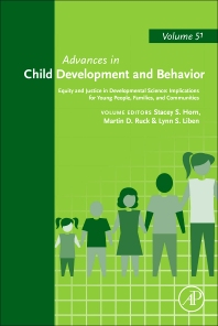Cover image for Equity and Justice in Developmental Science: Implications for Young People, Families, and Communities