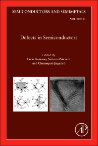 Defects in Semiconductors - 1st Edition - ISBN: 9780128019351, 9780128019405