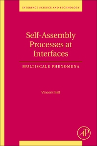 Cover image for Self-Assembly Processes at Interfaces