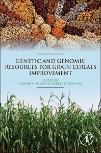 Cover image for Genetic and Genomic Resources for Grain Cereals Improvement