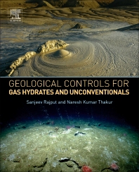 Cover image for Geological Controls for Gas Hydrates and Unconventionals