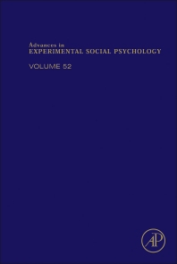 Advances in Experimental Social Psychology - 1st Edition - ISBN: 9780128022474, 9780128024355