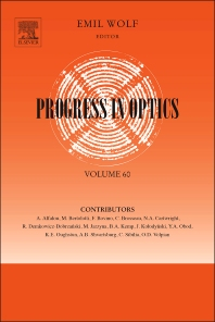Progress in Optics - 1st Edition - ISBN: 9780128022849, 9780128024829