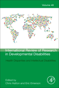 Cover image for Health Disparities and Intellectual Disabilities