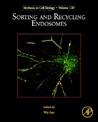 Sorting and Recycling Endosomes - 1st Edition - ISBN: 9780128028292, 9780128028711
