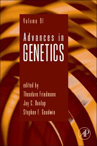 Cover image for Advances in Genetics