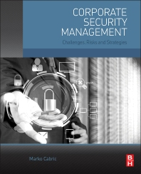 Cover image for Corporate Security Management