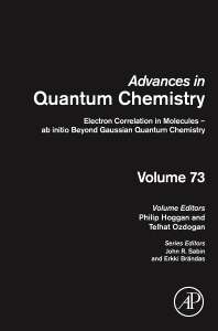 Electron Correlation in Molecules – ab initio Beyond Gaussian Quantum Chemistry - 1st Edition - ISBN: 9780128030608, 9780128030615