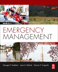 Introduction to Emergency Management - 6th Edition - ISBN: 9780128030646, 9780128030653