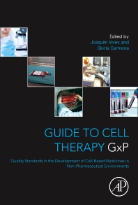 Cover image for Guide to Cell Therapy GxP