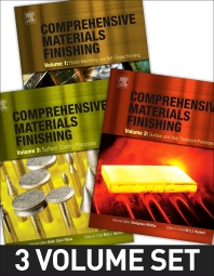 Comprehensive Materials Finishing - 1st Edition - ISBN: 9780128032497, 9780128032503