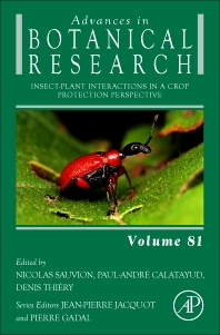 cover of Insect-Plant Interactions in a Crop Protection Perspective, Volume 81 - 1st Edition