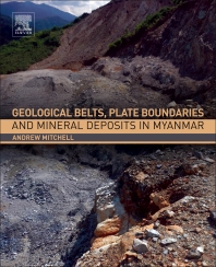 Cover image for Geological Belts, Plate Boundaries, and Mineral Deposits in Myanmar