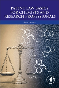 Cover image for Patent Law Basics for Chemists and Research Professionals