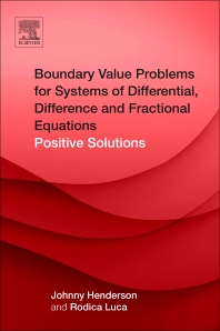 Cover image for Boundary Value Problems for Systems of Differential, Difference and Fractional Equations