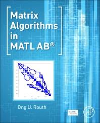 Cover image for Matrix Algorithms in MATLAB